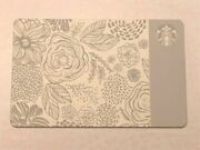 Rare 2015 Limited Ed Motherand039s Day Ceramic Etched Starbucks Gift Card 0 Balance
