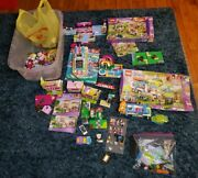 Massive Lot Of Lego Friends 3315, 41339,41057,41015,41007- With Pets 12 Lbs.