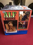 Vintage 1988 Alf Push Button Telephone Phone The Alf Phone Box Never Used