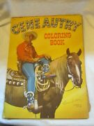 1950 Whitman Publishing Gene Autry Western Cowboy Paint And Coloring Book