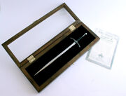 Lord Of The Rings Glamdring Sword Letter Opener And Display Case   Free Shipping