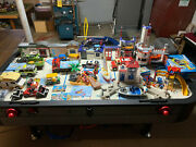 Playmobil Huge Lot-all Items 90-100 Complete W/ Instructions Lightly Played W/