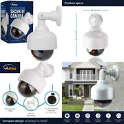 Fake Security Camera, Dummy Camera Dome Shaped Decoy Realistic Look Surveillance