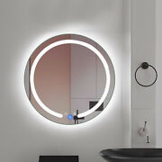 5mm Thickness Glass Material White Light Led Gentle Touch Sensor Mirror 6.38lbs