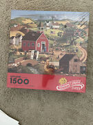 Vintage Springbok Golden Rule Days 1500 Piece Jigsaw Puzzle New And Sealed