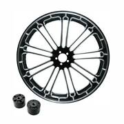 18 X 3.5and039and039 Front Wheel Rim Dual Disc Hub Fit For Harley Touring Models 2008-up