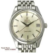 Omega Seamaster Cal.564 Chronometer Ref.168.024 Antique Ss Menand039s Watch [b0705]