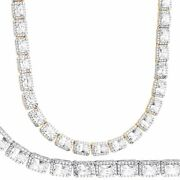 Iced Bling Zirconia Tennis Chain - Square 6mm