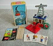 Vintage Lehmann Rigi 900 Cable Car Toy Made In West Germany 1960's Boxed J977