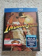 Indiana Jones - The Complete Adventures Blu-ray Target Digibook Lithographs New