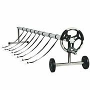 Durable 21and039 Aluminum Pool Cover Reel Set