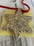 Towle Sterling Silver Snowflake Ornament 1992