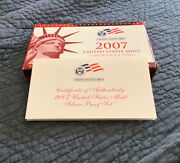 2007 United States Silver Proof 14-coin Set Us Mint Official Ogp
