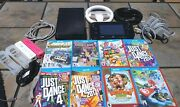 Nintendo Wii U Gamepad Wup-010 And 32gb Console Wup-101 02 With Games + Extras