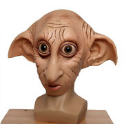 Harry Potter Dobby Latex 3/4 Face Mask Halloween Cosplay Props Party Masks
