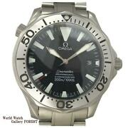 Omega Seamaster Professional 300m 2231.50 Titanium Menand039s Watch From Japan[b0706]