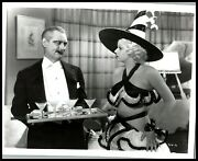 Lionel Barrymore + Jean Harlow The Girl From Missouri 1934 Hollywood Photo 475