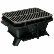 Durable Heavy Duty Cast Iron Tabletop Bbq Grill Stove For Camping Picnic