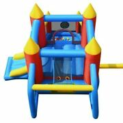 Inflatable Bounce House Slide Jumping Castle Soccer Goal Ball Pit Without Blower