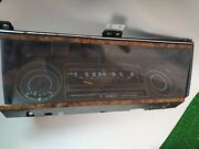 1985-1990 Chevy Caprice Instrumental Control Bezel Not Tested