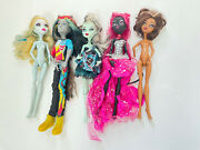 Rare Monster High Doll Lot Catty Noir 13 Wishes Neighton Rot, Sweet 1600 Frankie