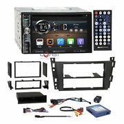 Soundstream Dvd Phonelink Stereo Dash Kit Amp Harness For 06+ Cadillac Dts Srx