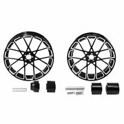 18and039and039 Front And Rear Wheel Rims W/ Hub Fit For Harley Touring Street Glide 08-21 Us