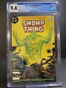 Saga Of The Swamp Thing 37 Cgc 9.4 White Pages // 1st Full App John Constantine