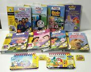 Leap Frog My First Leap Pad Games Cartridges And Book Preschool. Lot Of 10.