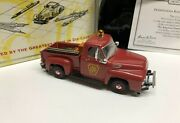 Matchbox Collectibles Pennsylvania Railroad 1954 Ford Pick-up Diecast Yis05-m
