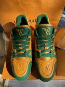 Louis Vuitton Lv Trainer Sneaker Size9lv / 10us 100 Authentic Sold Out 1a8wfr