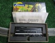 Athearn Nyc Baldwin S-12 Switcher And Black Caboose And Hopper Kits In Boxes
