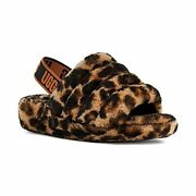 Ugg Womenand039s Fluff Yeah Slide Panther Print Slipper - Choose Sz/color
