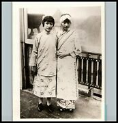 Pioneering Chinese-american Star Anna May Wong 1928 Costumed Chinese Photo 476