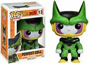 Funko Perfect Form Cell Dragonball Z X Pop Animation Vinyl Figure And 1 Pop Co