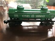 Vintage Lionel No.6465 Two-dome Cities Service Tank Car Tanker Used