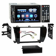 Concept Dvd Usb Mp3 Bluetooth Stereo Dash Kit Harness For 14-15 Toyota Corolla