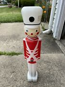 Vintage 1987 Union 30 Christmas Blow Mold Toy Soldier