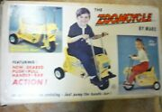 Marx Zoomcycle Original Box For Childs Ride On Motorcycle Pedal Car Related Rare