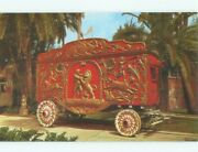 Pre-1980 Antique Ringling Brothers Circus Wagon Baraboo Wisconsin Wi E5572