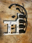 Chrysler 125hp Outboard Motor 2 Stroke All 4 Coils And Mounting Bracket