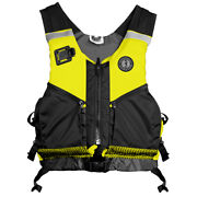 Mustang Operations Support Water Rescue Vest M/l Fluorscent Yellow-green/blac...