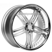 22 Staggered Xix Wheels X15 Silver Machine Ss Lip Popular Rims And Tires W/tpms