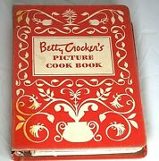 Betty Crocker's Picture Cook Book 5ring Binder 1st Edition 9th Printing 1950 Vtg