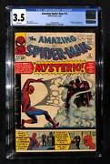 Amazing Spider-man 13 Cgc 3.5 Origin And 1st Appearance Of Mysterio