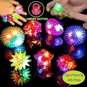 Kunmark 72pcs Led Light Up Toys Party Favors Glow In The Dark Party Supplies, Gl