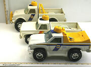 3pc Nylint Toys Napa Chevy Pressed Steel Pickup Trucks Made In Usa Vintage Used