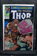 The Mighty Thor 411 Marvel 1989 1st Cameo Appearance Of The New Warriors 9.0