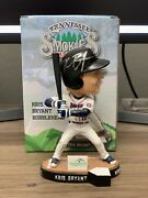Kris Bryant Tennessee Smokies Autographed Global Authentics Bobblehead Cubs