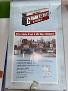 Vintage Walthers Cornerstone Series Interstate Fuel And Oil Gas Station Ho Scale